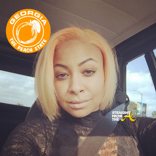 Raven Symone New Peach Hair Color 2