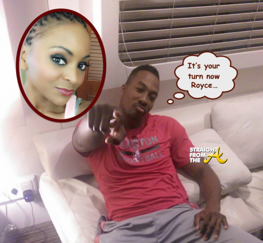 Royce Reed Charged With Child Abuse - Dwight Howard 1