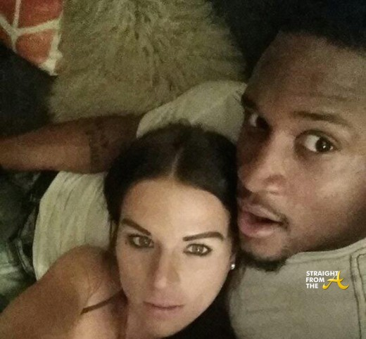 Brennan Clay and Wife Gina (SELFIE) StraightFromthea