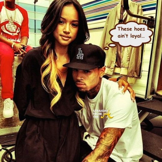 Chris Brown Karrueche Tran - StraightFromTheA