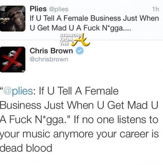 Chris Brown vs. Plies - StraighTFroMTheA