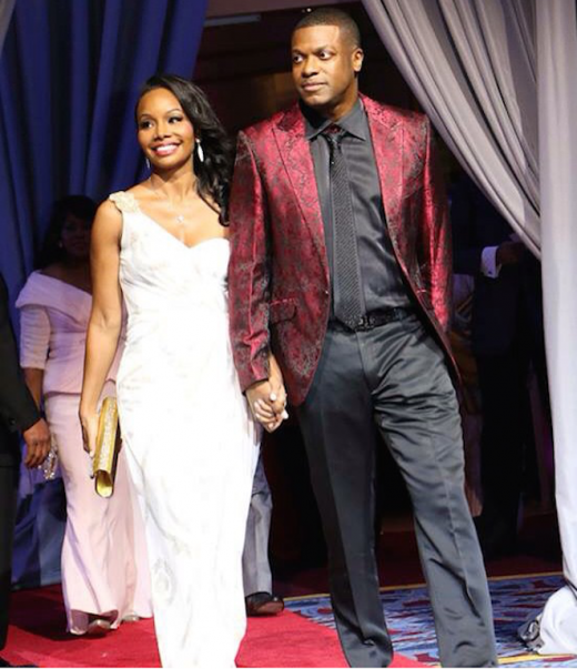 Chris Tucker and Date - UNCF Mayors Ball