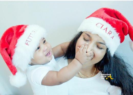 Ciara Baby Future Christmas 2014