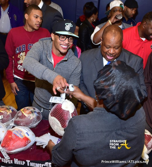 T.I. Turkey Giveaway - 2014 StraightFromTheA-13