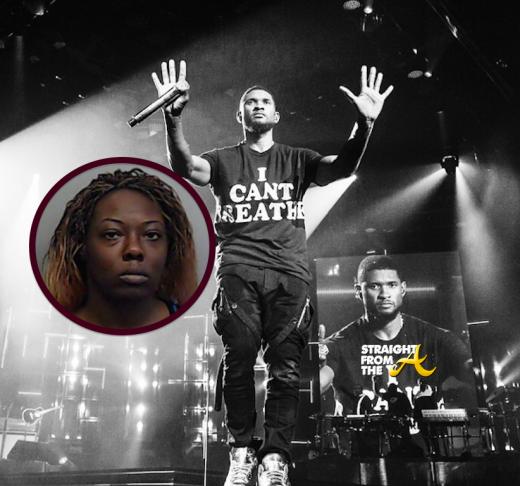 Usher Darshelle Jones Rakestraw - StraightFroMTheA