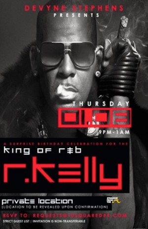 r. kelly invite