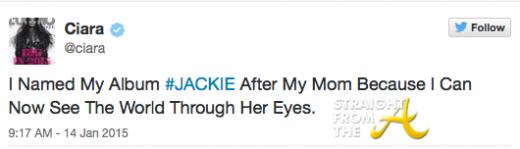 Ciara tweet