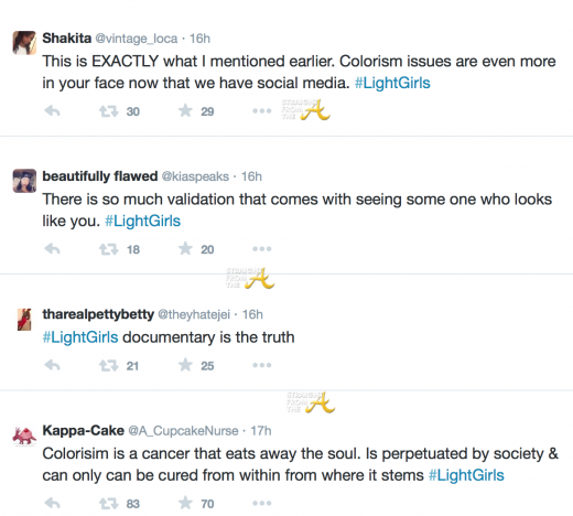 Light Girls Tweets
