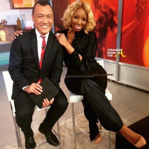 Nene Leakes GMA 2015 - Joe Zee - StraightFromTheA