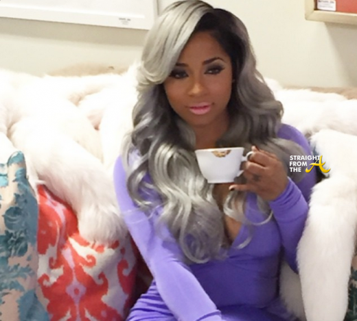 Toya Wright Gray Hair - StraightFromTheA 1