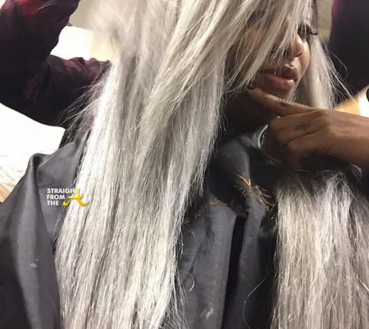 Toya Wright Gray Hair - StraightFromTheA 4