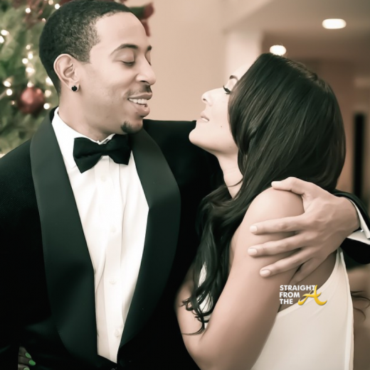 Eudoxie Ludacris Baby Bump Watch 2015 3