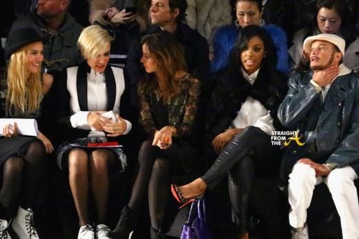 Porsha Williams Front Row NYFW 2015