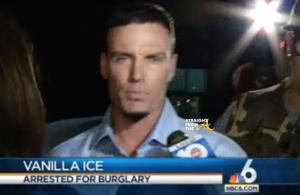 Vanilla Ice Burglary Arrest 2