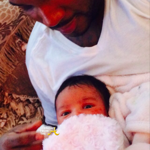Young Jeezy and Daughter 1