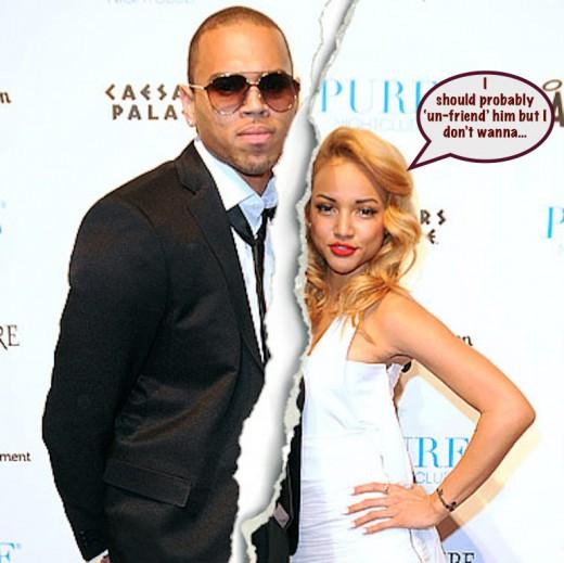 Chris Brown Karreuche Break Up