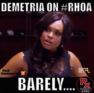 Demetria McKinney - RHOA 1