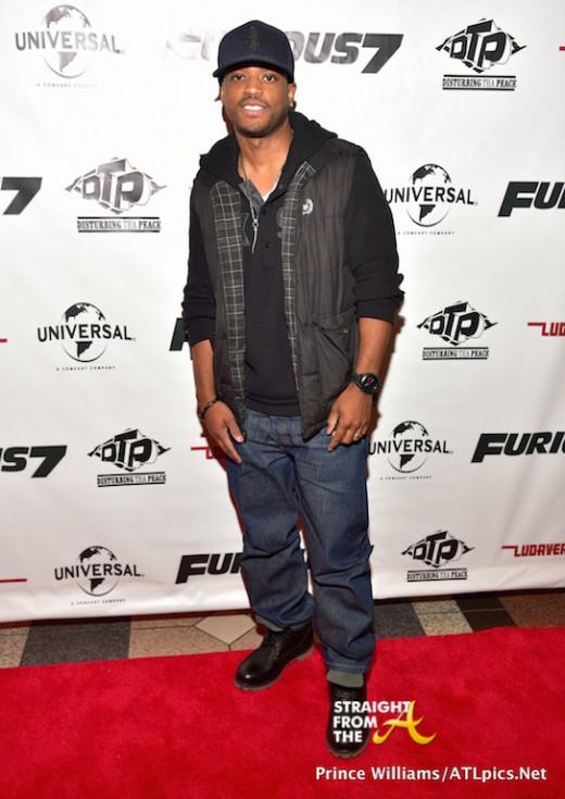 Ludacris Furious 7 Screening - SFTA-24