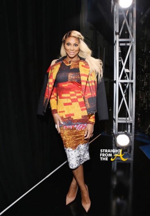 Tamar Braxton -  Givenchy Mosaic Pixel Print Dress 1