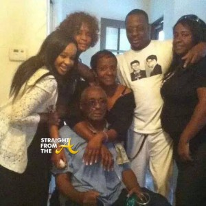 Bobbi Kristina, Whitney Houston, Bobby Brown, Tina Brown and Family