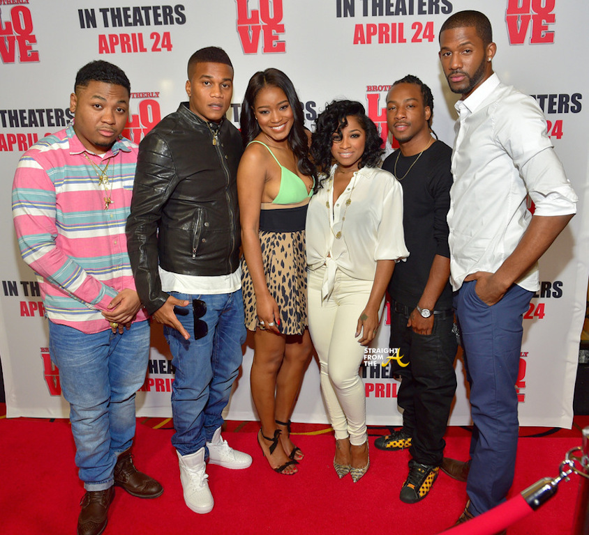 Brotherly Love Cast & Toya Wright - Straight From The A ...