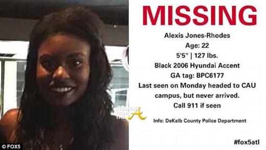 Alexis Jones Rhodes Missing 1