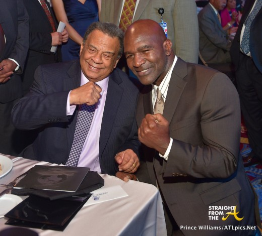 Andrew Young Evander Holyfield 3