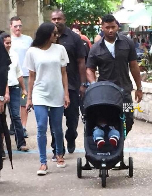Ciara Russell Wilson Baby Future 2015