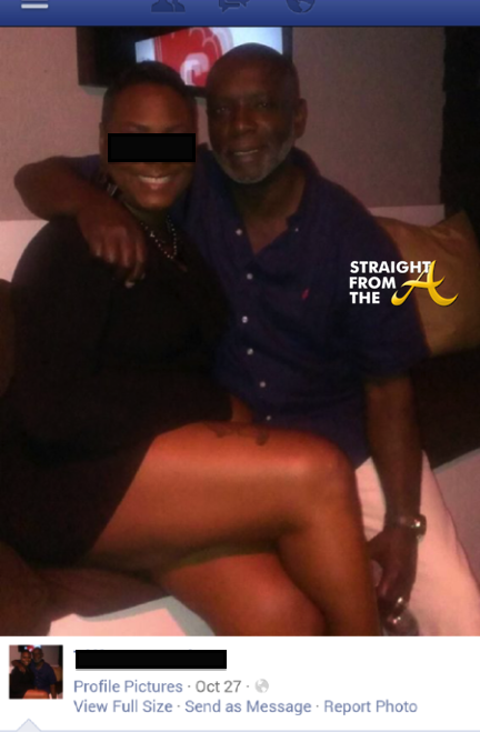 Peter Thomas and mystery woman