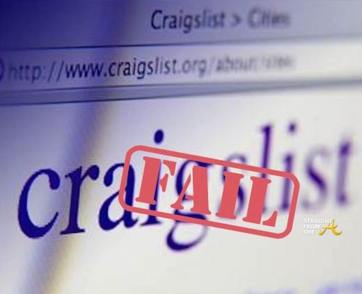 Craigslist Fail - SFTA