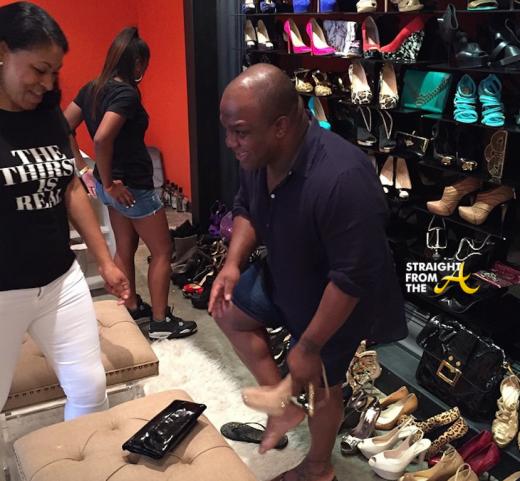 Derek J Diane Gowins NeNe Leakes Pop Up Shop