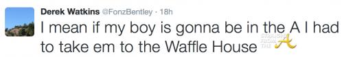 Fonzworth Bentley Tweet 2015