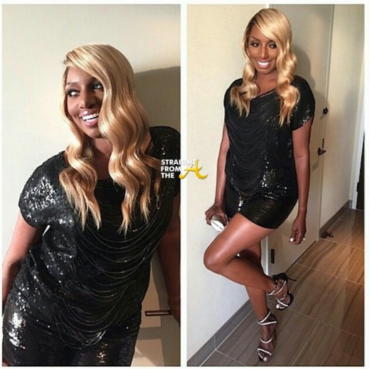 Nene leakes long blond wig sfta 1