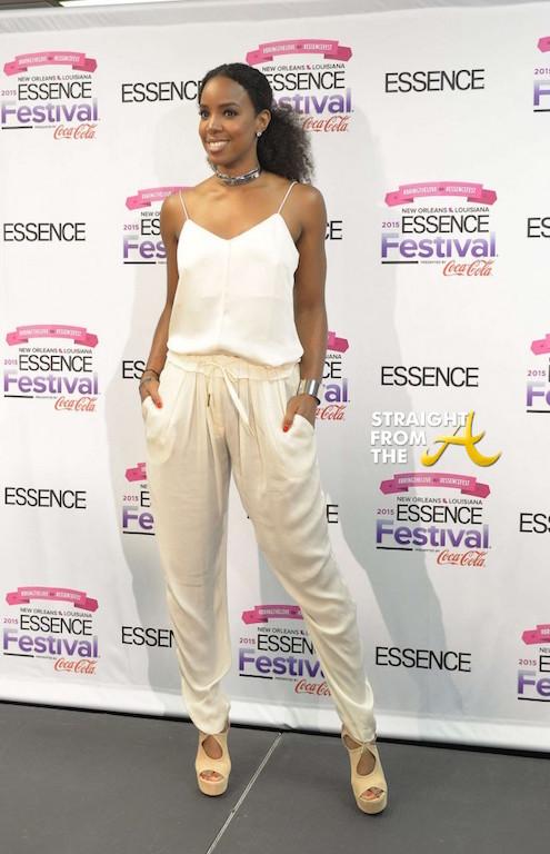 Kelly Rowland - 2015 Essence Music Festival 2
