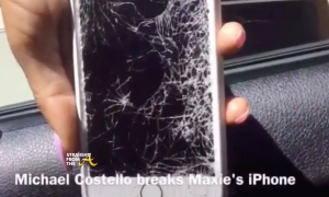 michael costell racial slur maxine james broken phone