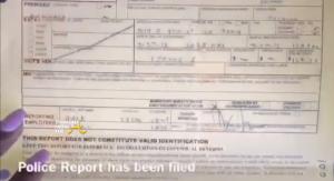 michael costello racial slur maxine james police report