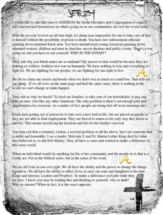Jeezy Open Letter 1