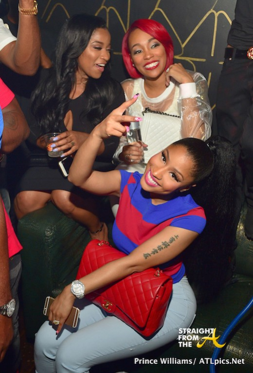 toya wright nicki minaj monica brown