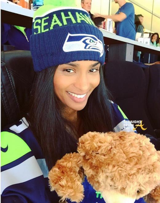 Ciara Seahawks Game 2