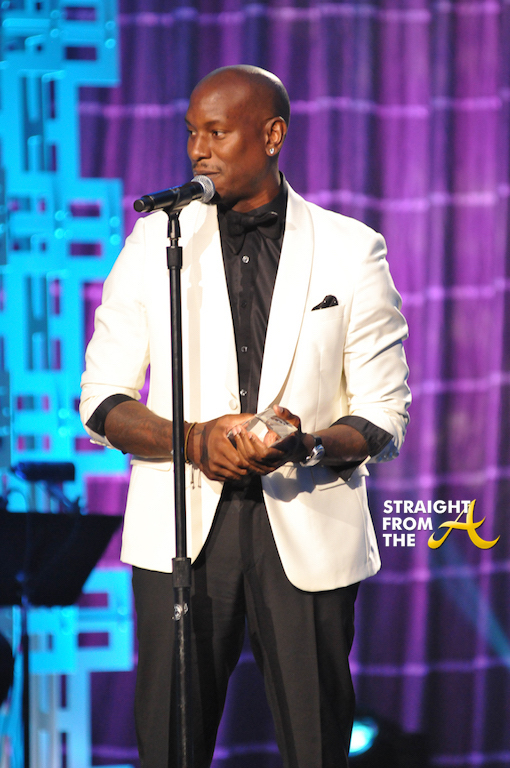 Tyrese Accepting Award