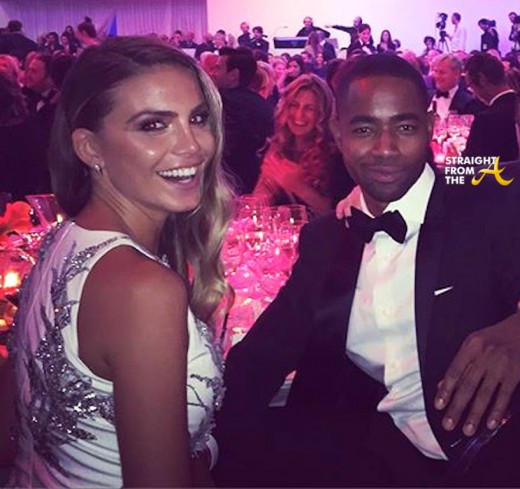Nina Senicar and Jay Ellis - AmFAR 2015