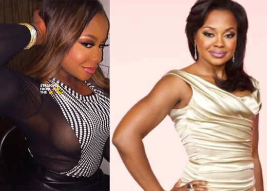 Phaedra Parks Before After Breast Implants StraightFromTheA