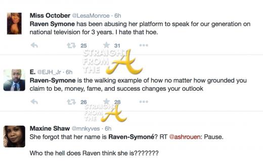 Raven Symone Tweets 1