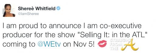 Sheree Whitfield Tweet 2015