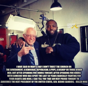 Bernie Sanders Killer Mike 5