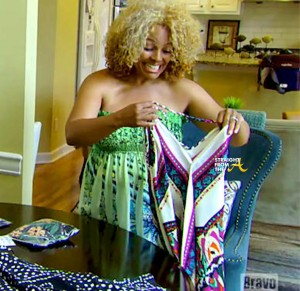 Kim Fields New Dress