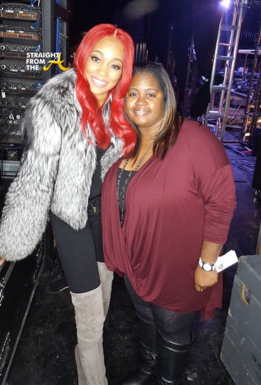 Monica and Fans - Code Red Memphis 3
