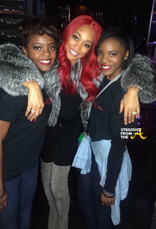 Monica and Fans - Code Red Memphis 5