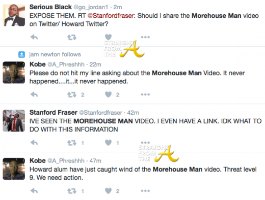 Morehouse Man Tweets 1