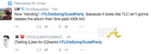 TLCisGoingToJailParty Tweets